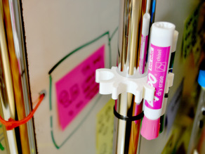 Marker holder for Z-rack Whiteboard