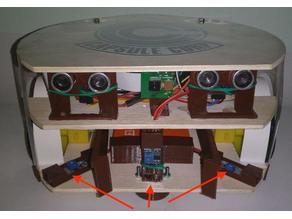 IR sensor distance mount