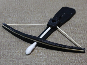 Cotton Swab Crossbow