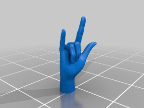 I love you (ILY) -- ASL