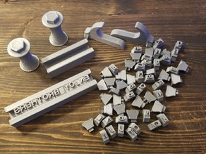 Leather Stamping Kit