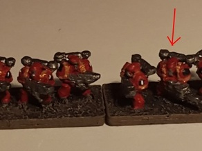Epic Scale - Evil Enhanced Humans - Generalist Infantry with Cannon