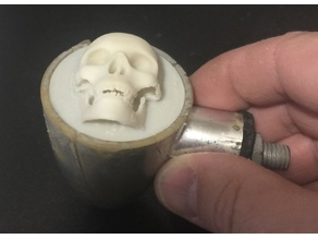Glow in the Dark Skull lens replacement