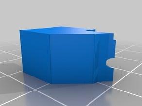 Micromake Delta Printer Flexible filament PLA adapter