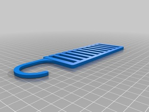 My Customized Tie Hanger - Parametric