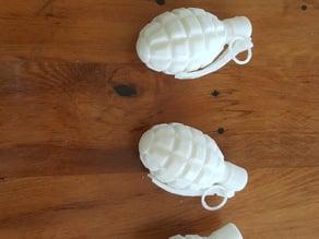 Pineapple Grenade Print ready