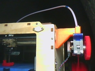 Support for mounting a Wade-like extruder on an Ultimaker