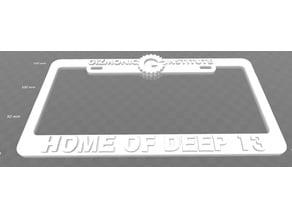 Gizmonic Institute - Home of Deep 13 License Plate Frame, MST3K