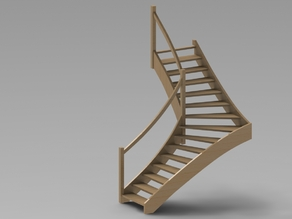 Stairs (Wooden 1/4)