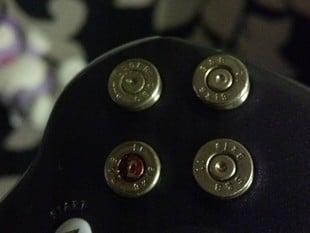 Xbox 360 9mm Bullet Buttons Base Set
