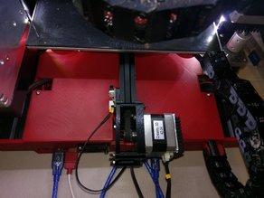 Ender 3 SKR 1.3 case w/ MOSFET, buck converter, and y-damper