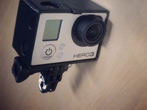 GoPro Frame for Backpac Or Touchscreen (Hero3/3+)