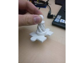 Magnet Puzzle Spiral Chess