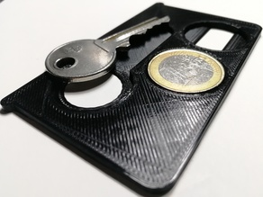 Coin and key - card