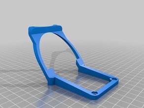 Fan & extrudrboard holder for bq prusa i3 hephestos
