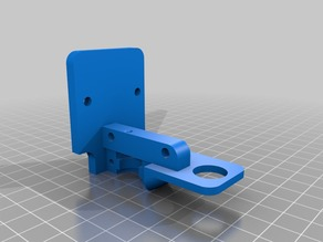 Prusa i3 Direct Extruder with Inductive mount