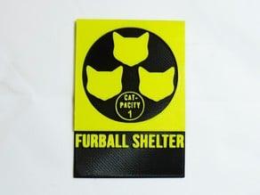 Furball Shelter Signage