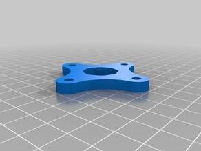 Arcade joystick restrictor plate - 8 way octagonal for Sanwa