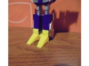 Transformers BlitzWing G1 feet