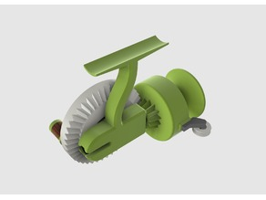 Multimaterial Spinning Reel