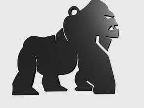 Gorilla Pendant