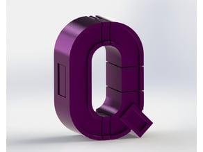 Alphabet Robot - Q