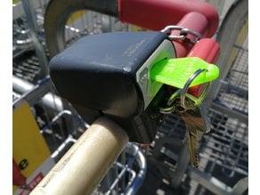 Shopping Cart Token (buckle plug) for Denmark