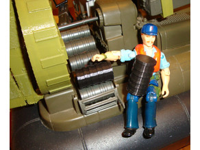 1980's GIJOE Killer WHALE Depth Charge