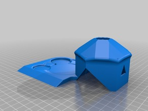 Turtle/Lizard house with water bowl