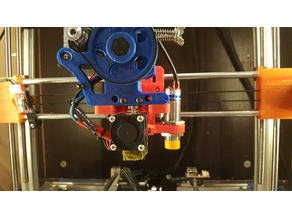 Folgertech prusa i3 gregs wade extruder mount lj18a3-8-z/bx 18mm inductive sensor