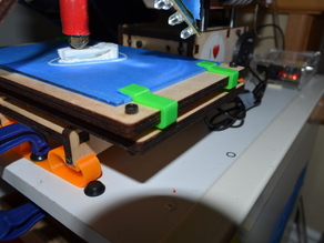 Printrbot Simple Glass Bed Clips