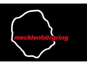 """Mecklenburgring 485 race track badge """"Nürburgring"""""""