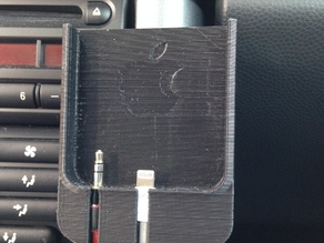 iPhone 5 holder (for mini cooper vehicles)