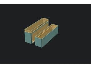 Parametric Card Box with tab/slot lid
