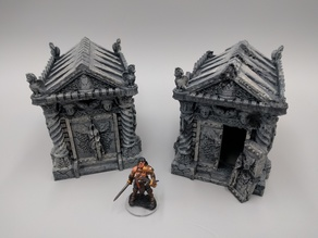 Tomb (Ruined and Intact) - 28mm gaming
