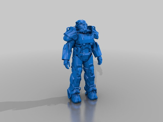 wearable T60b Power Armor from Fallout 4 Brotherhood of Steel by