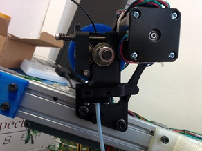 Ultimate Greg's Wades Geared Extruder -- Bowden M4 nut version, with more constraints for flexible filaments