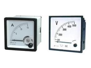 Mounting bracket for Voltmeter or Ammeter