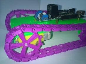 Arduino 3d printed modular tank chassis