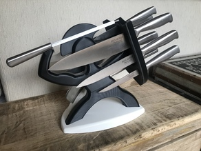 SARACENO KNIFE BLOCK