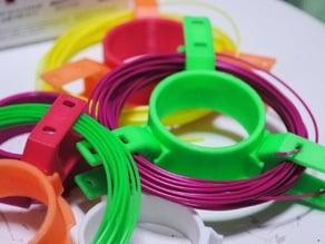 Snap Fit spool for short filament BIQU-magician etc.