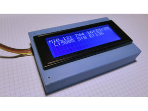 LCD 2004A i2C Case