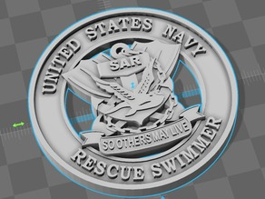 Navy Search And Rescue Swimmer Logo - So Others May Live