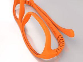 Lunettes VTO | VirtualTryOn.fr 3D Printed Glasses : Steve