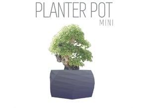 Parametric Plant Pot - 10cm, super thin walls
