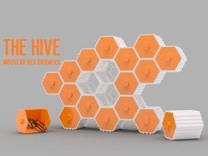 The HIVE - Modular Hex Drawers