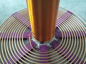 Tesla Coil Primary Holder