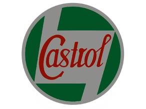 Vintage Castrol Sign