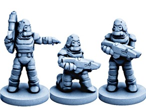 Dominion Enforcers Mark-V (18mm scale)
