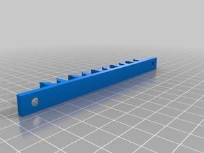 Wallmount for 5 Arrows (10.4mm / 0.41 Inch)